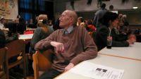 Die Hauptperson des Dokumentarfilms, Hans Lieser, freut sich über die große Resonanz der Veranstaltung.