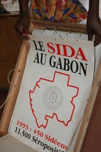 Aids, auf französisch SIDA, ist wesentliches Thema in den Aufklärungskampagnen von Gabun.